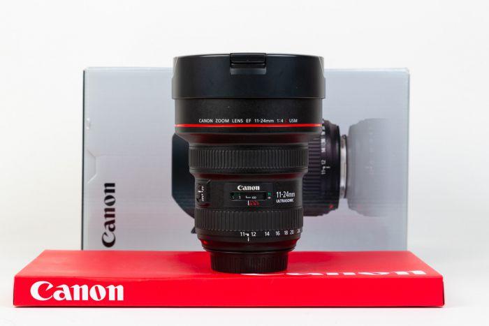 Obiettivo Canon 11-24mm F4 L USM