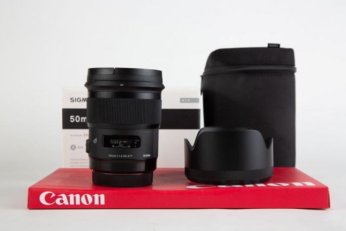 Obiettivo Sigma 50mm f1.4 ART Canon