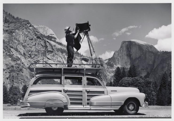 ansel adams fotografia paesaggistica bianco nero